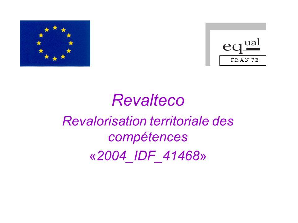 Revalteco Revalorisation territoriale des compétences «2004_IDF_41468»