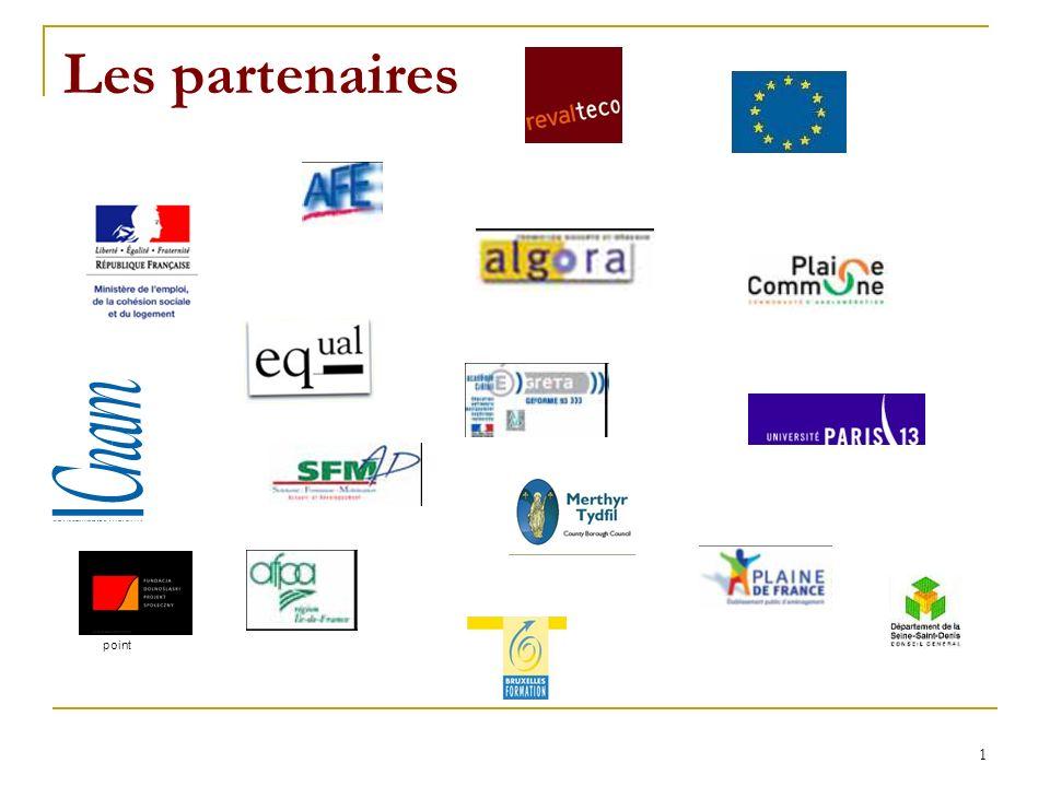 1 Les partenaires point