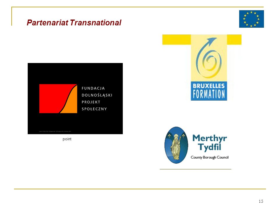 15 Partenariat Transnational point