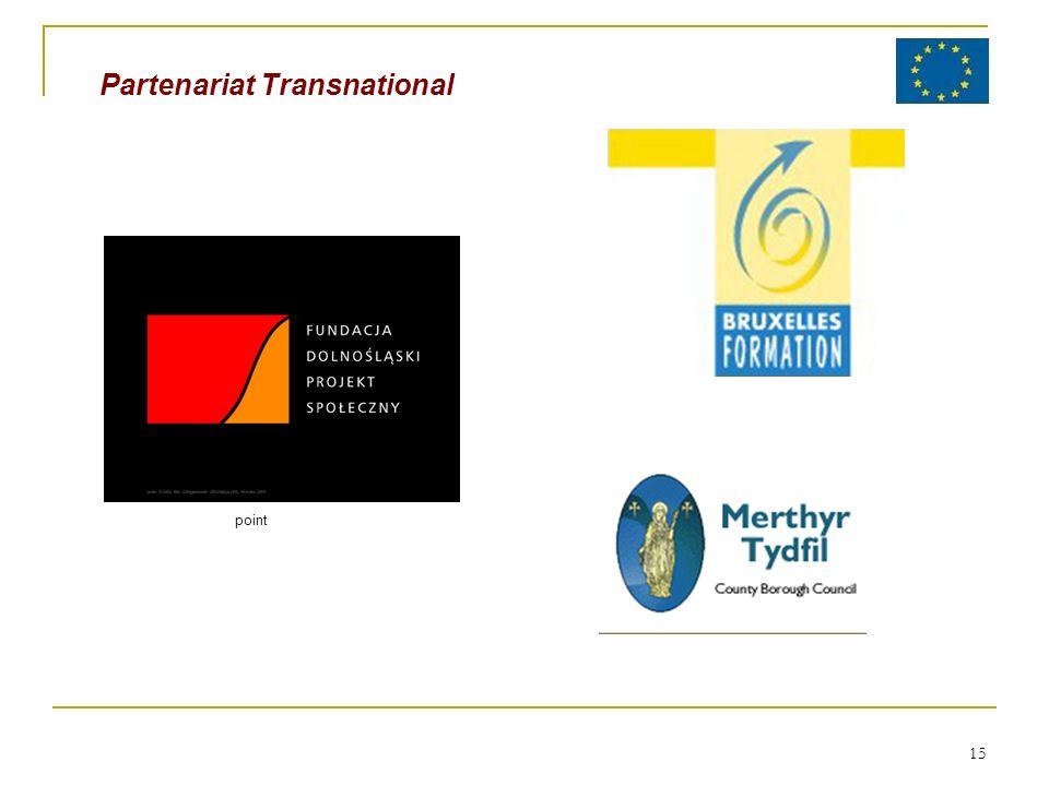 15 Partenariat Transnational point