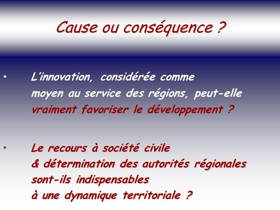 SOCIETE DE LA CONNAISSANCE Jean-Marie ROUSSEAU PARIS - REPERES 3/06/2002 6PRFR 34 Politique régionale Linnovation, considérée comme moyen au service des régions, peut-elle vraiment favoriser le développement .