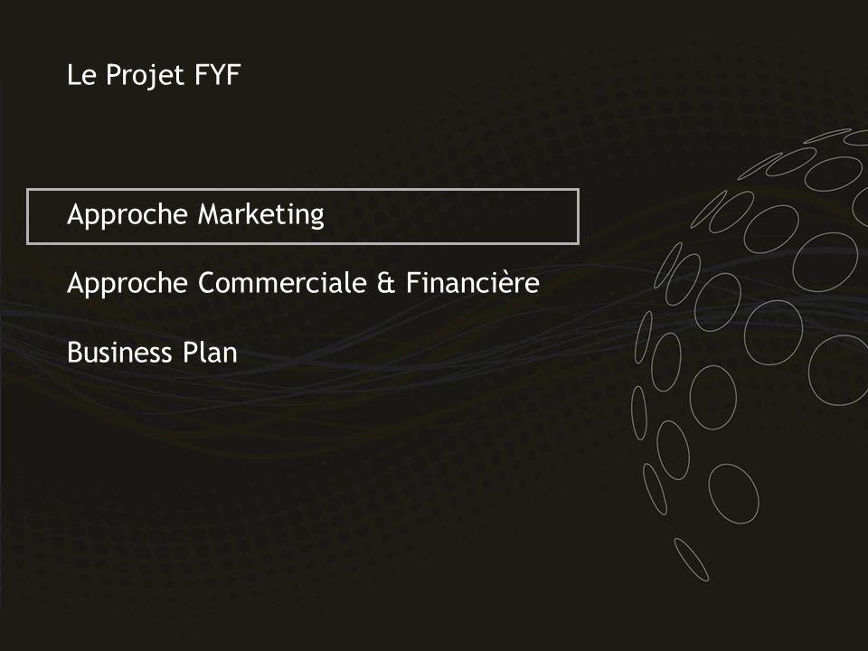 Le Projet FYF Approche Marketing Approche Commerciale & Financière Business Plan