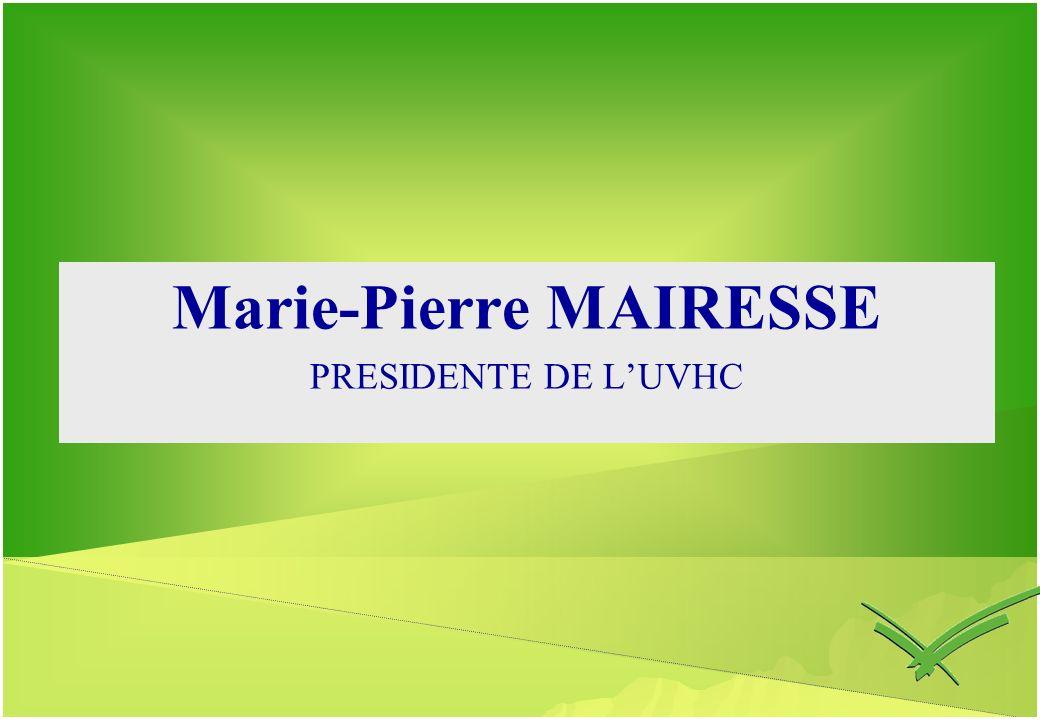 Marie-Pierre MAIRESSE PRESIDENTE DE LUVHC