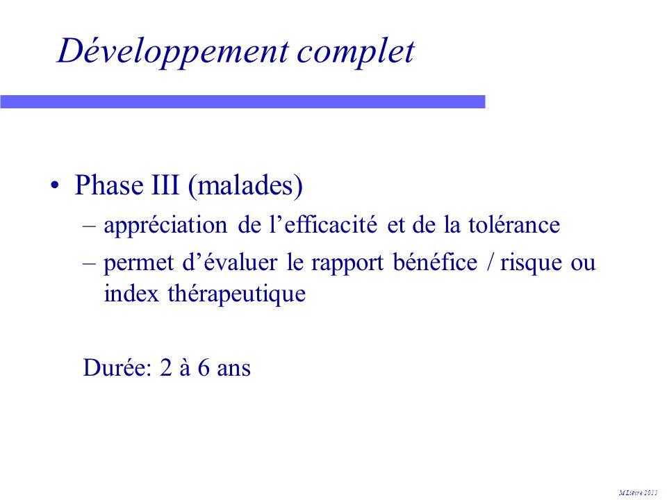 European Public Assessment Report (EPAR) 1 M Lièvre 2011