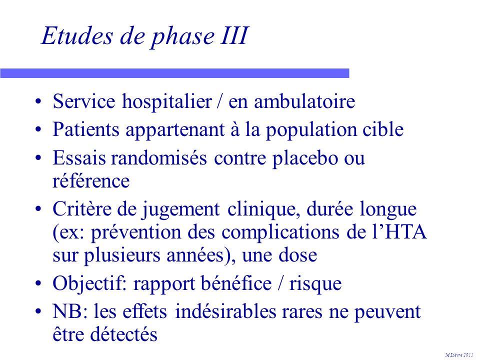 European Public Assessment Report (EPAR) 2 M Lièvre 2011