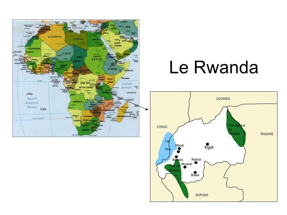 1896 : Arrivée au Rwanda des Allemands.