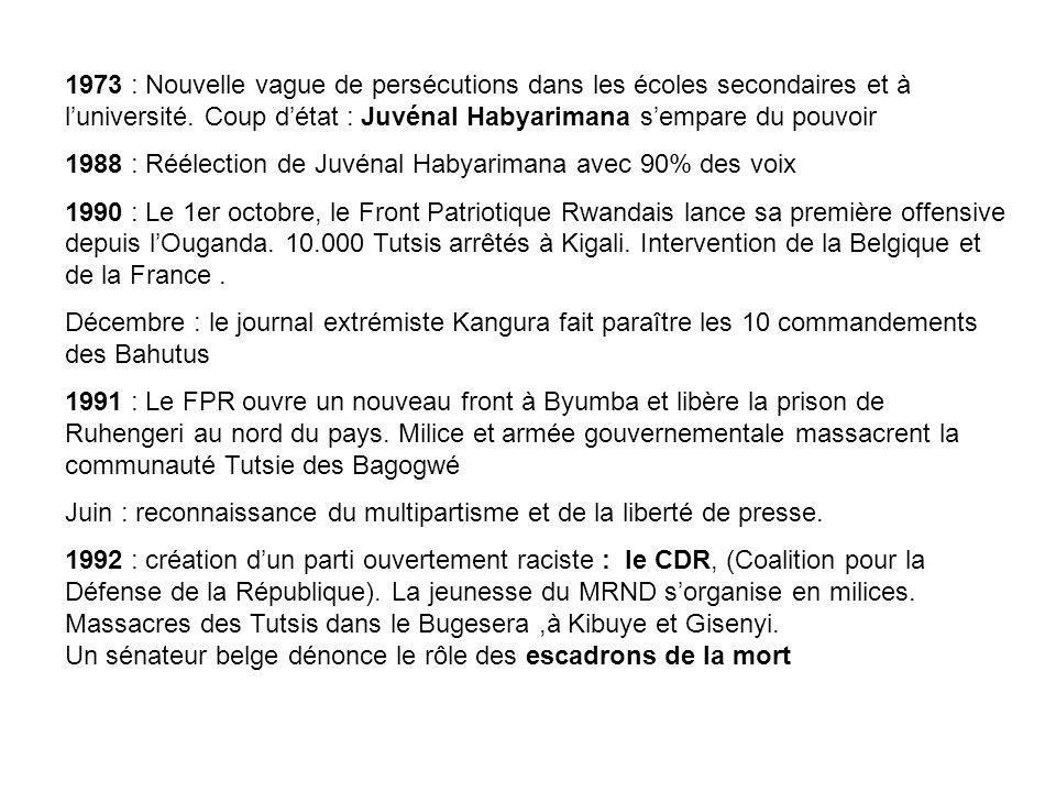 Juillet 1992 : premier cessez-le-feu conclu avec le FPR.