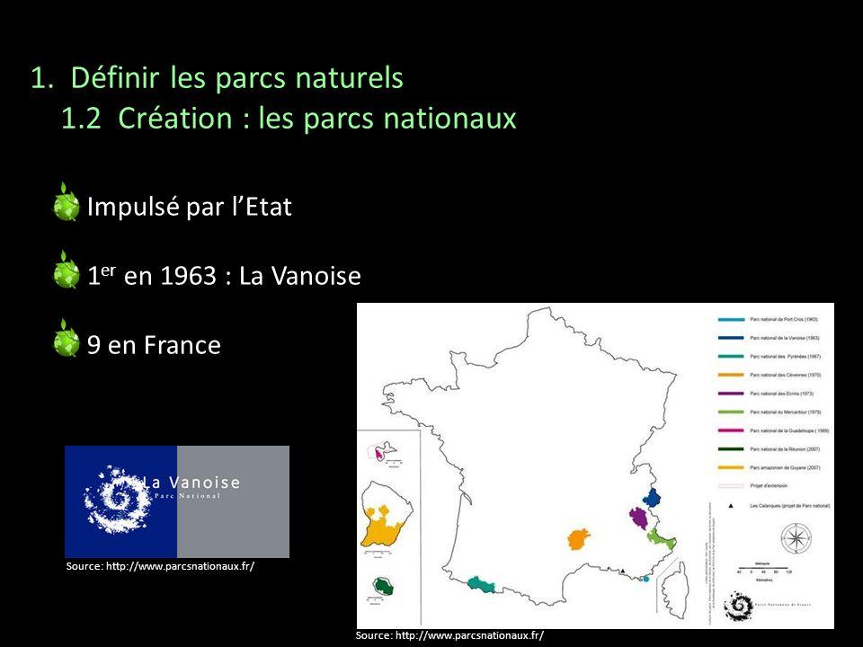 Les PNR Protéger le patrimoine Aménager et développer le territoire au niveau économique, social et culturel Informer le public Les Parcs nationaux Préserver et protéger la biodiversité Patrimoine culturel au second plan 1.