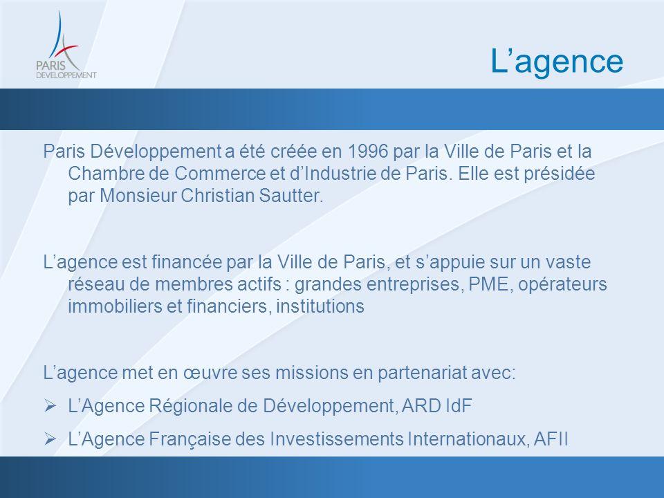Une expertise au service de lAttractivité Internationale: Paris Développement Attirer et faciliter limplantation des entreprises internationales à Paris