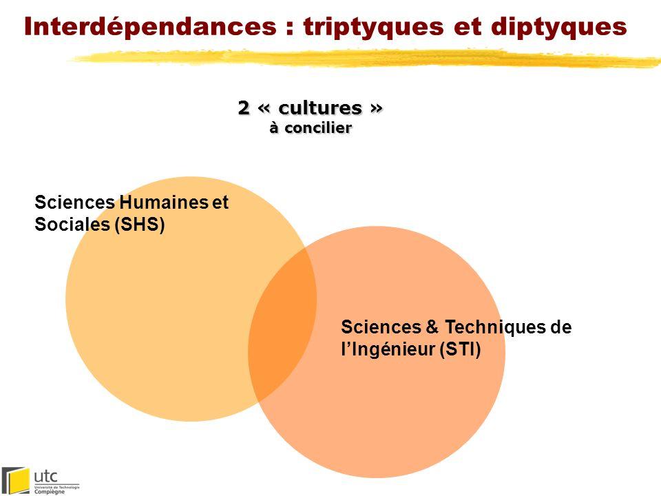 Interdépendances : triptyques et diptyques Professionnelle Privée Publique (citoyenne) 3 « sphères » à activer (contextes daction et de responsabilité)