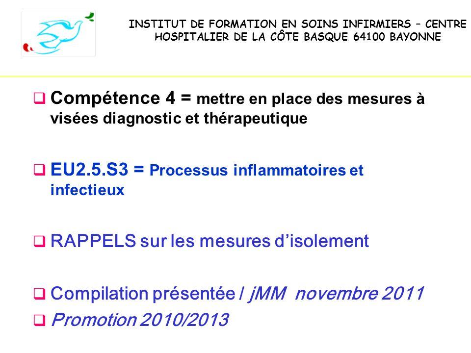 IFSI -UE 2.10.Infectiologie-Hygiene Pr AM Rogues - 201131 Les précautions « contact » Comment .