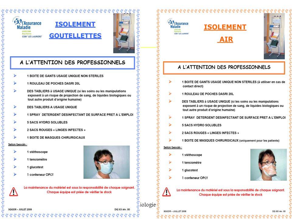 IFSI -UE 2.10. Infectiologie-Hygiene Pr AM Rogues - 201149 La chambre individuelle Installation du patient en chambre individuelle OU Regroupement dan