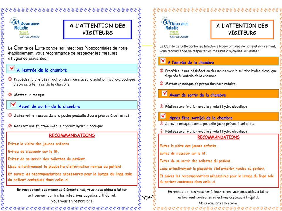 IFSI -UE 2.10. Infectiologie-Hygiene Pr AM Rogues - 201151 De la pathologie Du micro-organisme en cause et de ses caractéristiques Des mesures qui doi