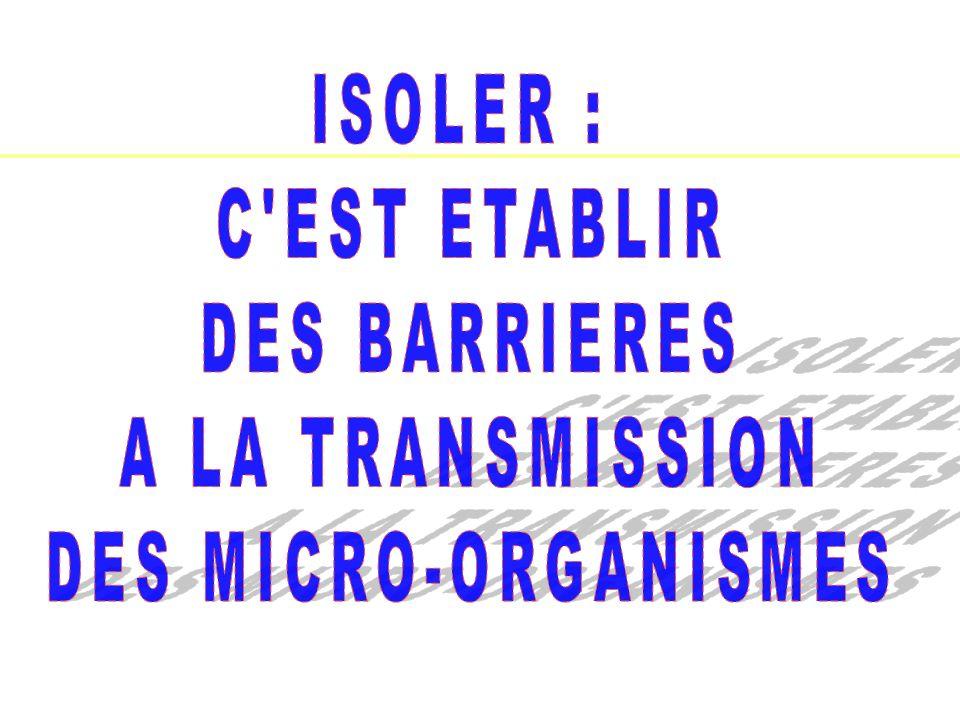 IFSI -UE 2.10.Infectiologie-Hygiene Pr AM Rogues - 201136 Les précautions « contact » Comment .
