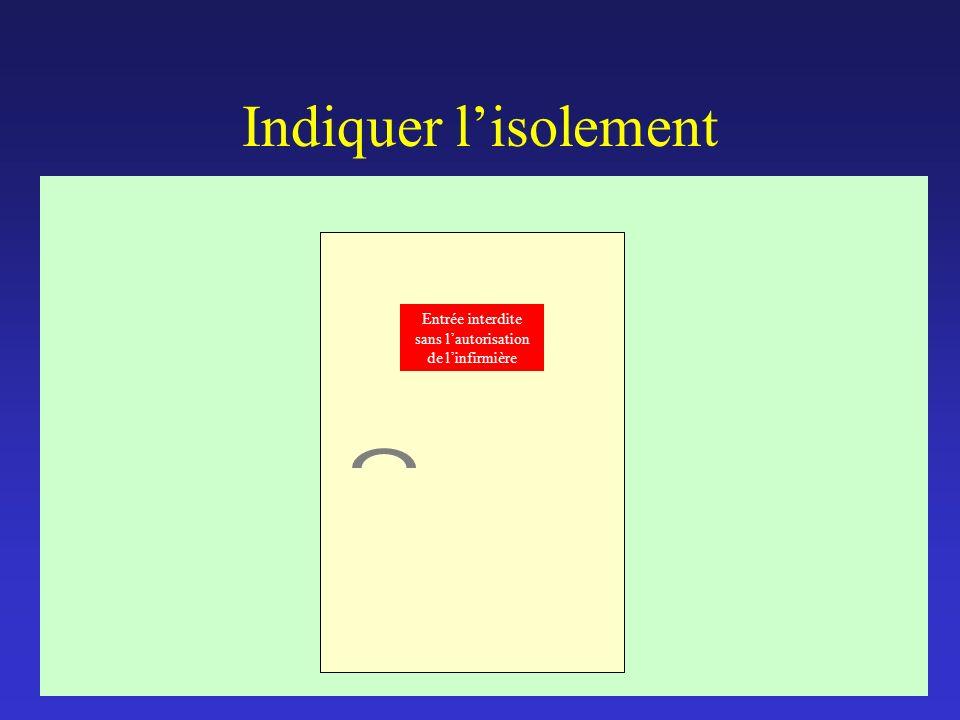 Isolement67 Comment isoler ? Précautions standards Isolement respiratoire Isolement sécrétion excrétion Isolement strict