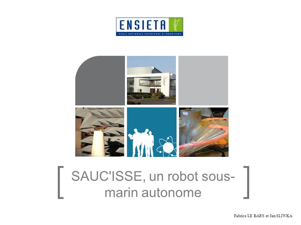 SAUC'ISSE, un robot sous- marin autonome Fabrice LE BARS et Jan SLIWKA