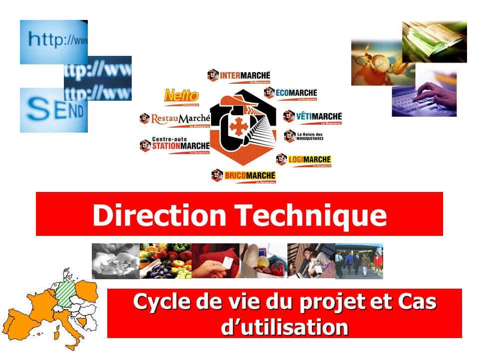 Direction Technique Cycle de vie du projet et Cas dutilisation