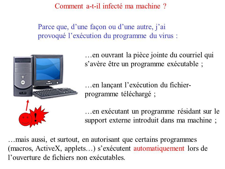 Comment lanti-virus sait-il que ma machine est susceptible dêtre infectée .