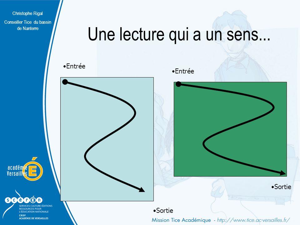 Christophe Rigal Conseiller Tice du bassin de Nanterre Quelques différences A4 (21 x 29,7 cm) Écran (1024 x 768 pixels)