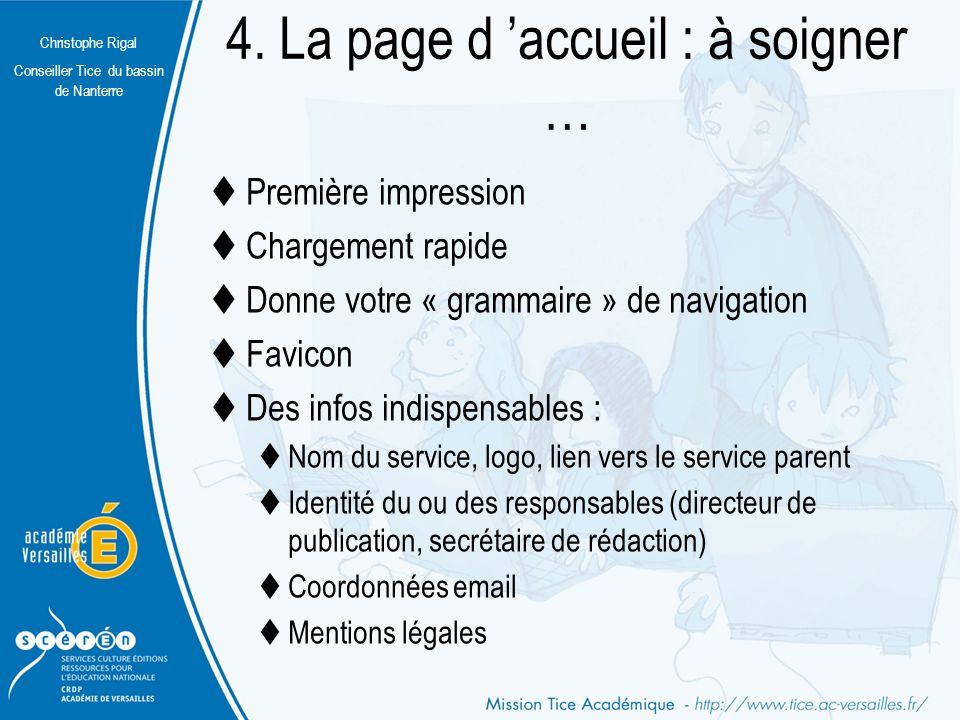 Christophe Rigal Conseiller Tice du bassin de Nanterre Sommaire Pied de page LogoEn-tête Corps La maquette