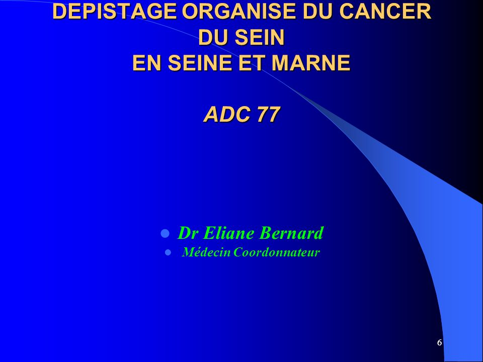 17 Améliorer le dépistage de masse Sensibilisation de la population ciblée par le dépistage de masse (Enquête EDIFICE) Dr VARETTE