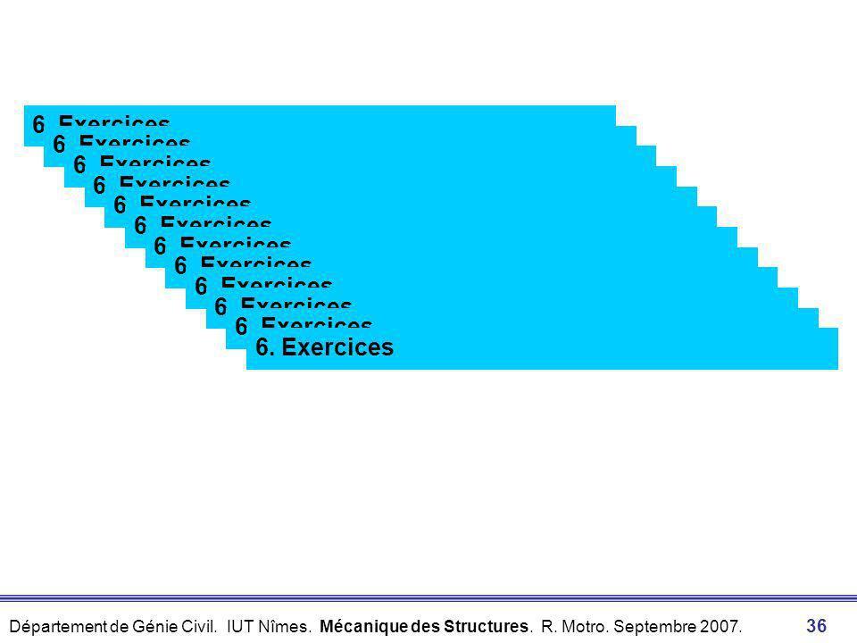 Département de Génie Civil. IUT Nîmes. Mécanique des Structures. R. Motro. Septembre 2007. 35 Décomposition Composition +z 5. Boîte à outils 5.3 Décom