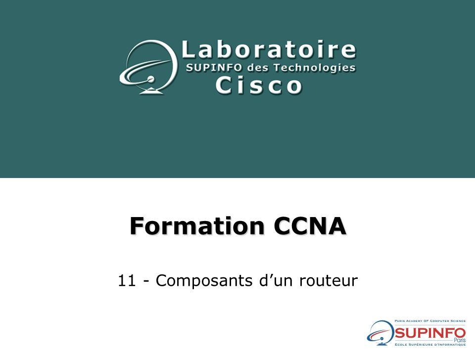 Sommaire 1)Sources de configuration externes 2)Composants de configuration internes et commandes détat associées