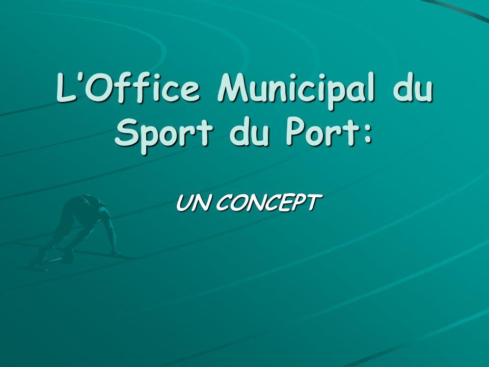 O.M.S du Port Son histoire: LOffice Municipal du Sport du Port est né en 1971 dune volonté municipale : que la politique sportive soit définie par les sportifs en partenariat avec la ville.
