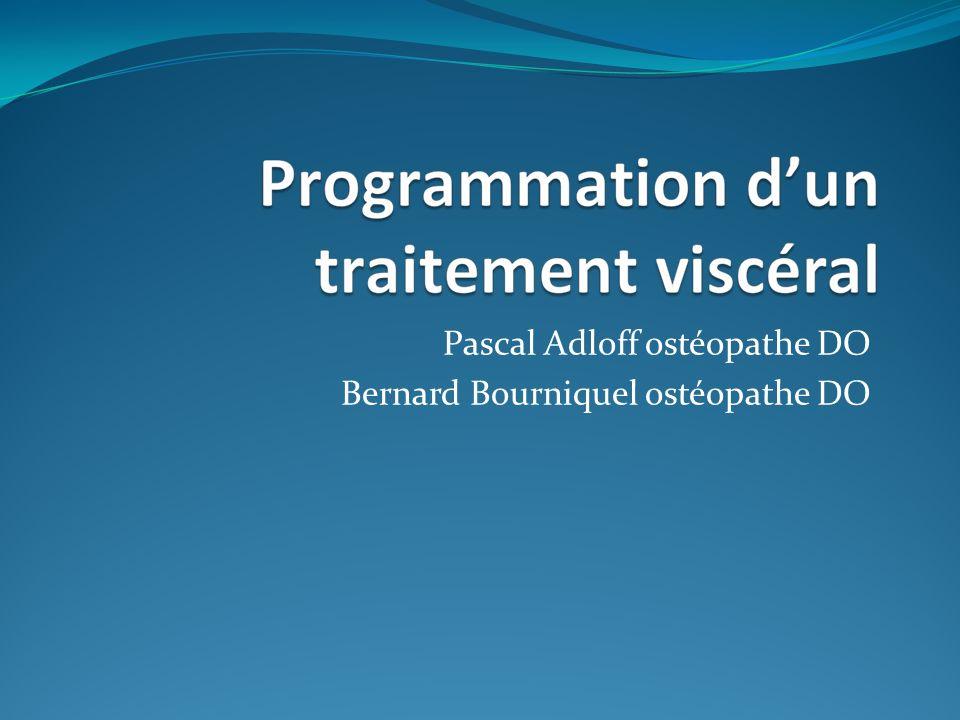Pascal Adloff ostéopathe DO Bernard Bourniquel ostéopathe DO