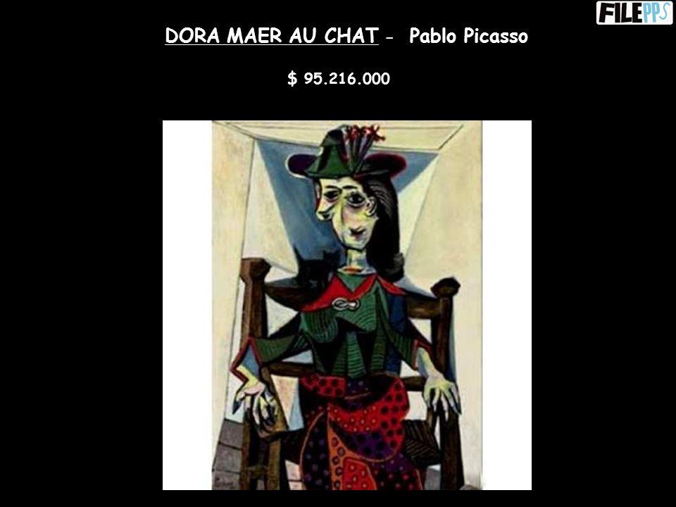 LES NOCES DE PIERRETTE – Pablo Picasso $ 53.000.000