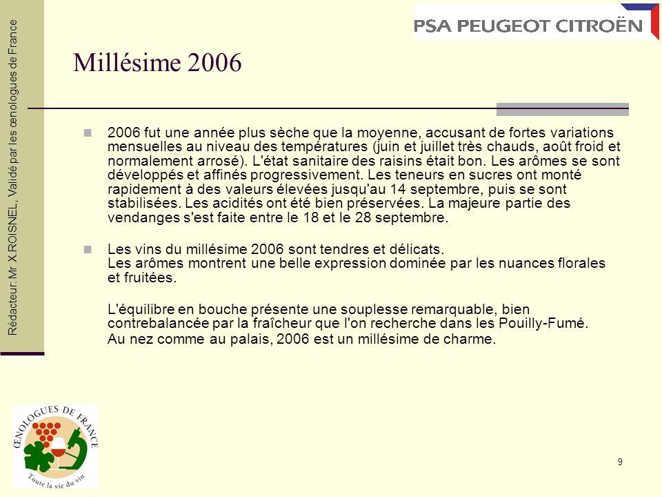 10 Typicité des terroirs de Pouilly Silex Ces sols communiquent à la vigne une grande régularité de production et de qualité et ce d autant plus qu ils sont profonds.