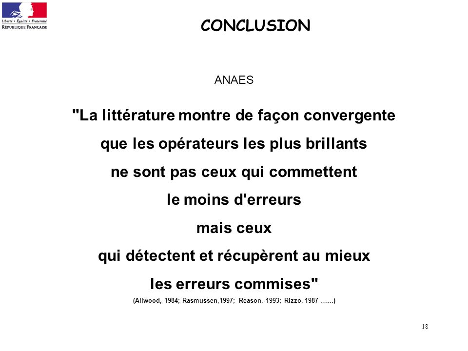 18 CONCLUSION ANAES