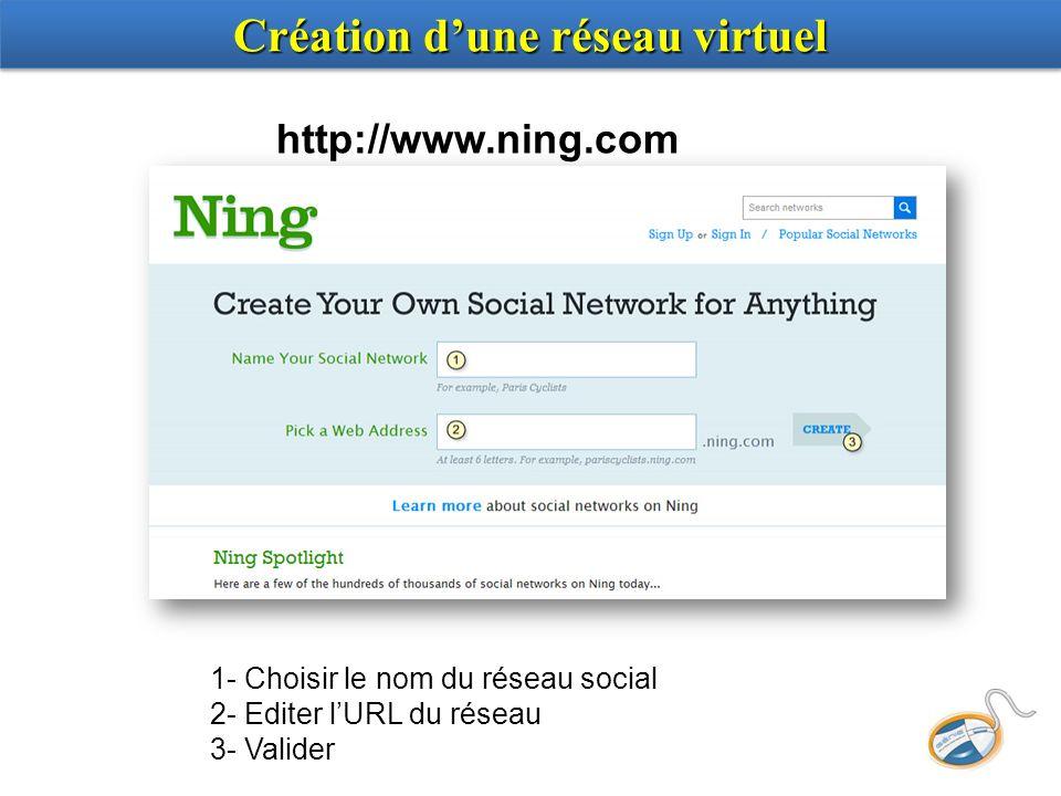 Création dune réseau virtuel