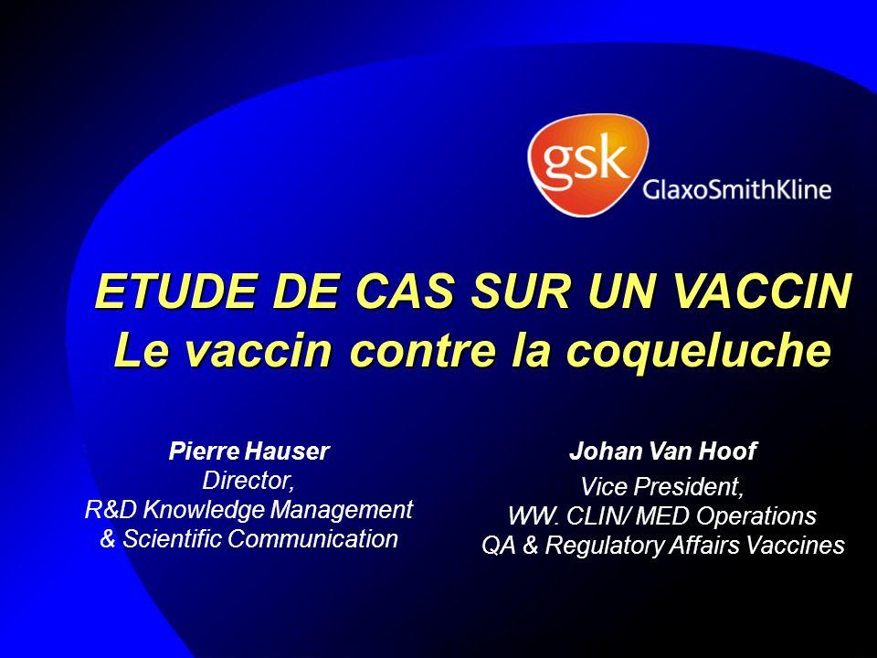Un vaccin sous-unitaire purifié à partir du pathogène : le vaccin contre la coqueluche