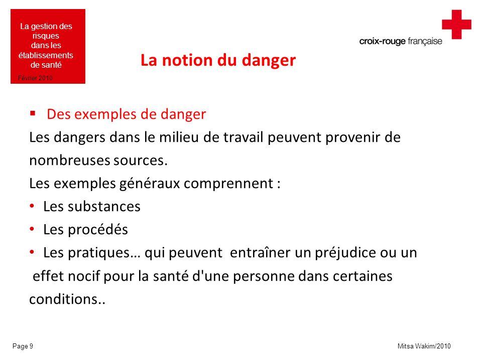 Mitsa Wakim/2010 La gestion des risques dans les établissements de santé Février 2010 La catastrophe de Ténérife Page 190