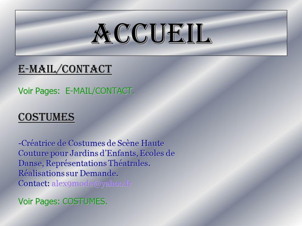 Accueil -Collection de Déguisements (Catalogue).-Collection Carnaval.