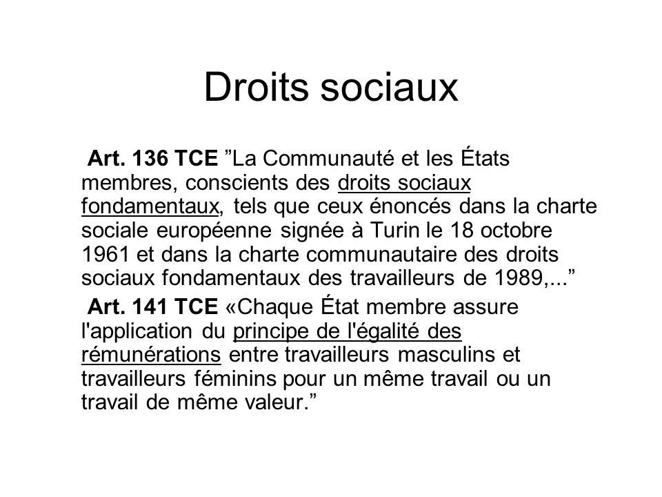 Droits sociaux Art.