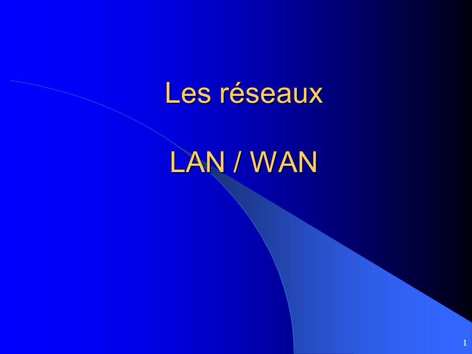 1 Les réseaux LAN / WAN