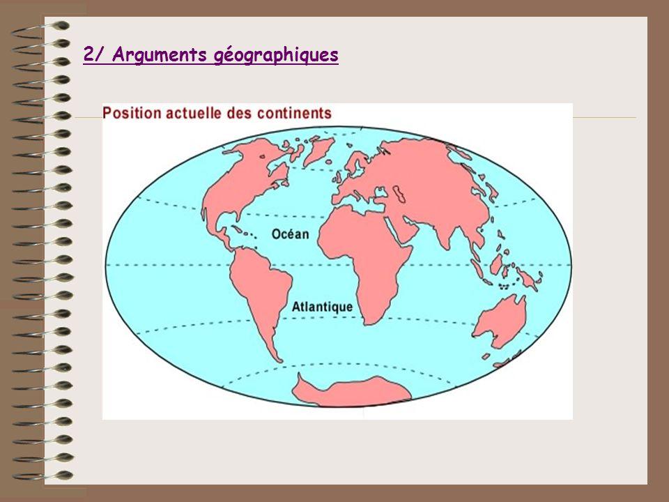 2/ Arguments géographiques