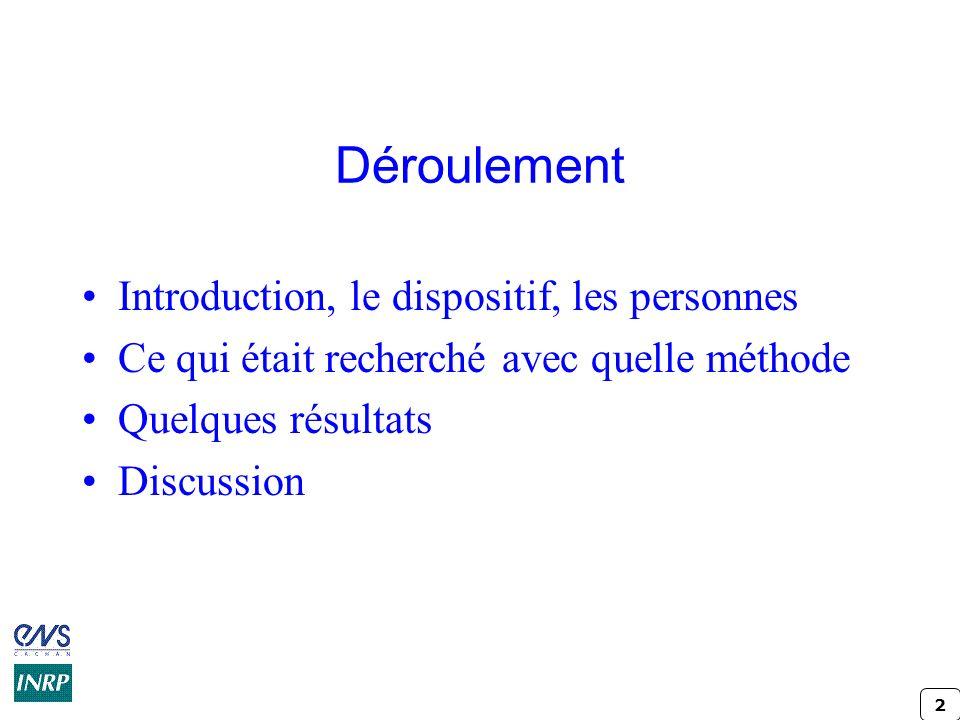 33 Mon système didactique, mes « géométries » variables Laurent GERBOUIN Génie civil & Khalid CHIABI Maths-Sciences (par procuration)