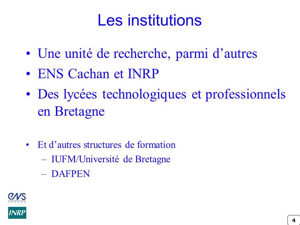 5 Le dispositif Professionnalité et interventions enseignantes (C.