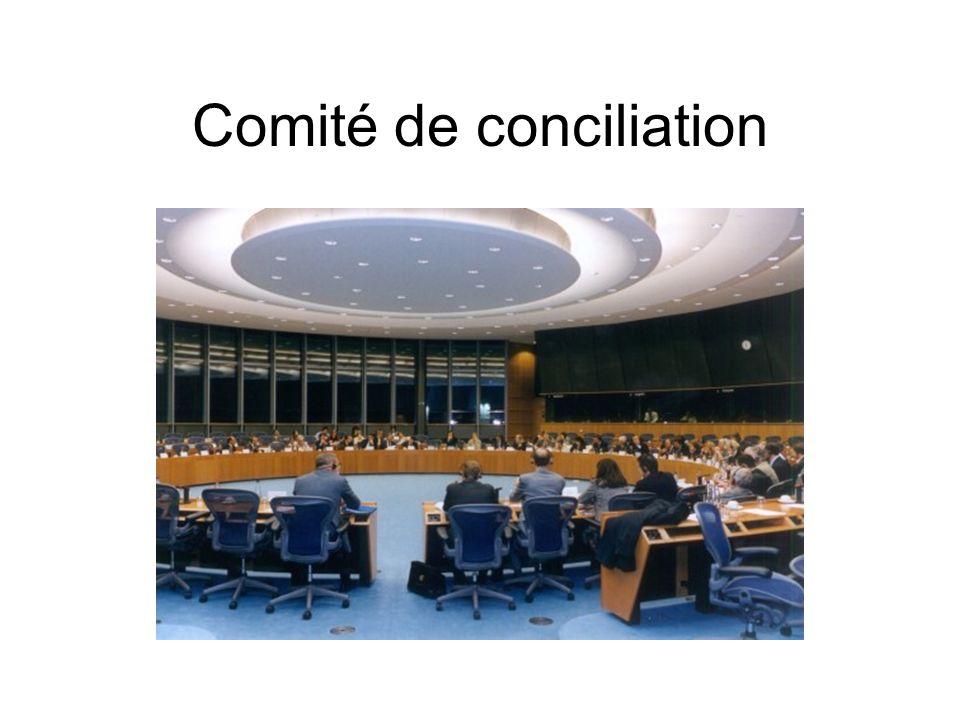 Comité de conciliation