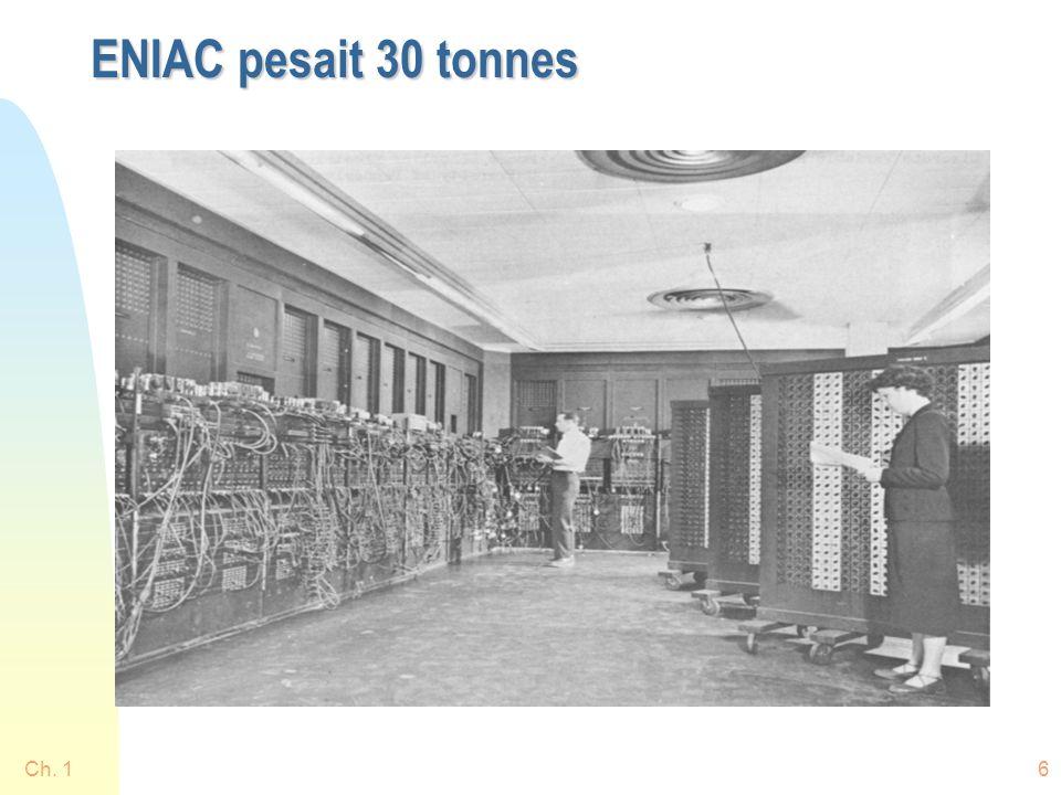 Ch. 157 Aujourdhui ordinateur principal (mainframe ou serveur) Terminaux intelligents (PCs)