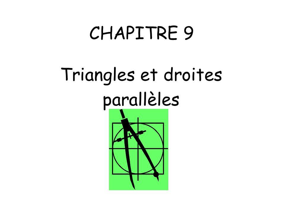 Objectifs: - Connaître et utiliser les théorèmes relatifs aux milieux de deux côtés d un triangle.