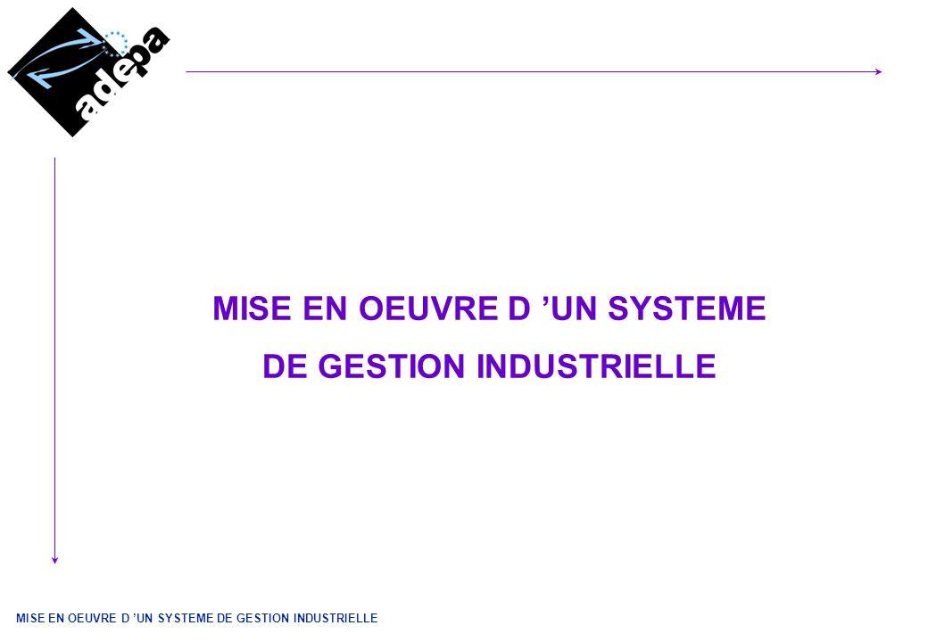 MISE EN OEUVRE D UN SYSTEME DE GESTION INDUSTRIELLE 2 SOMMAIRE 1 - PRÉLIMINAIRES 2 – LA STRUCTURATION DU PROJET 3 - LES ÉTAPES CLEFS 3.1 - PLANIFICATION DU PROJET 3.2 – CONSTITUTION DE LEQUIPE PROJET 3.3 – ANALYSE OPERATIONNELLE 3.4 – TRANSFERT DES DONNEES 3.5 – PARAMETRAGE – CONFIGURATION 3.6 –PROTOTYPAGE – MAQUETTAGE