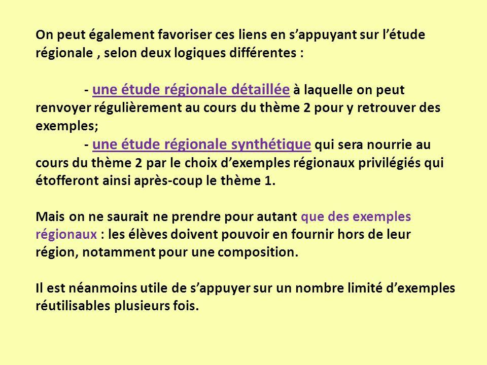Le programme (B.O.): Aménager et développer le territoire français 4 questions : leur mise en œuvre, avec 3 études de cas : Pas détude de cas pour La France en villes