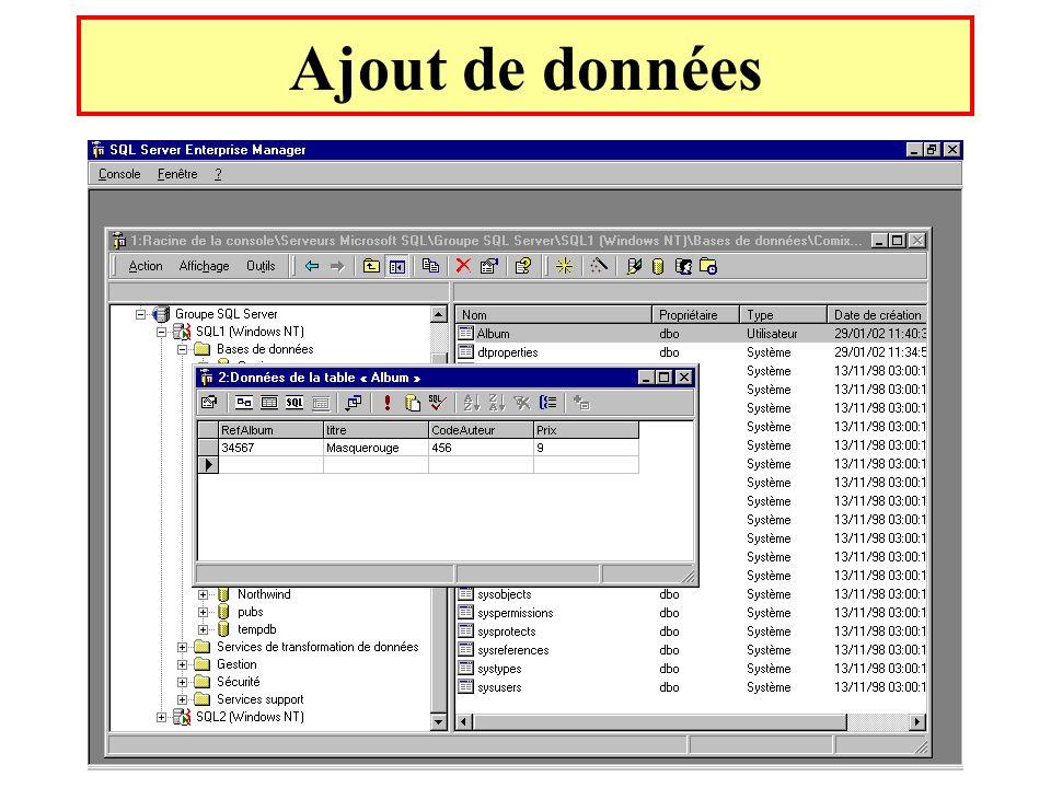 Yonel Grusson49 Ajout de données