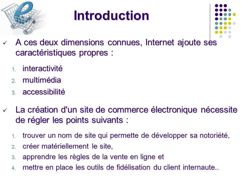1- Lidentification du site 1-1- Le nom du site Le nom du site est le premier élément de visibilité et de mémorisation, il s apparente à la fois à une marque et à une enseigne.