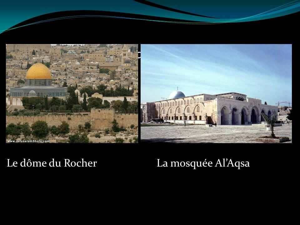 Lesplanade des mosquées Le dôme du RocherLa mosquée AlAqsa
