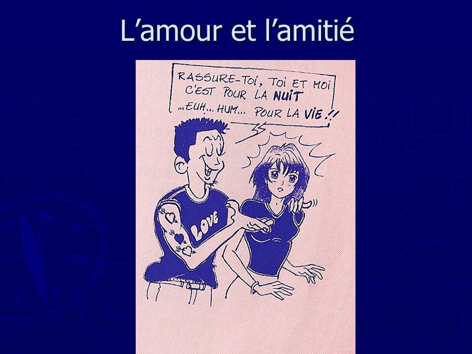 Lamour et lamitié